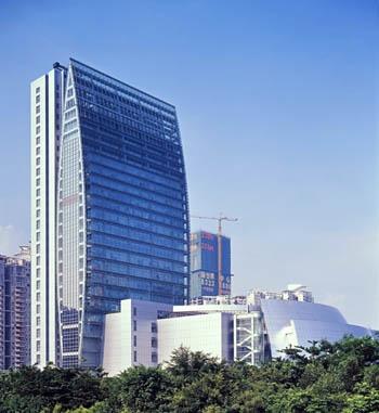 公司所设计的公共建筑遍布全国各地.